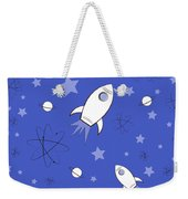 Rocket Science Dark Blue Weekender Tote Bag