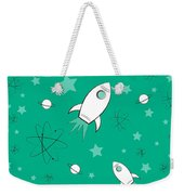 Rocket Science Green Weekender Tote Bag