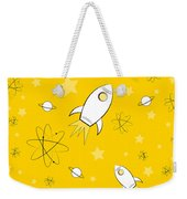 Rocket Science Yellow Weekender Tote Bag