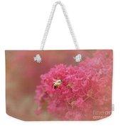 Rockin Pink Bee Weekender Tote Bag