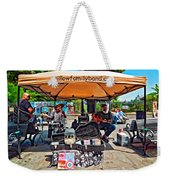 Rockin' The Square Weekender Tote Bag