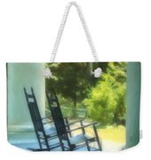 Rocking Chairs And Columns Weekender Tote Bag