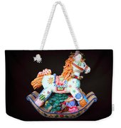 Rocking Horse Weekender Tote Bag