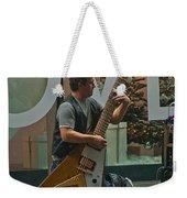 Rocking Times Square Weekender Tote Bag