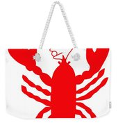 Rockland Maine Lobster With Feelers 20130605 Weekender Tote Bag