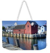 Rockport Fishing Village Weekender Tote Bag
