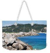 Rocks And Sea Weekender Tote Bag