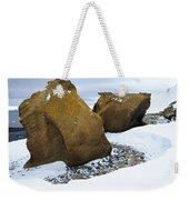 Rocks At Brown Bluff, Antarctica Weekender Tote Bag