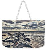 Rocks At Cape May Weekender Tote Bag