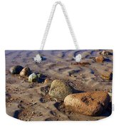 Rocks In A Row Weekender Tote Bag