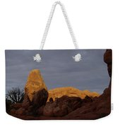 Rocks In Arches National Park Weekender Tote Bag