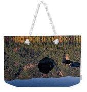 Rocks In Crescent Lake Weekender Tote Bag
