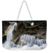 Rocks In Paradise Weekender Tote Bag by Inge Johnsson