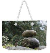 Rocks In The Garden Weekender Tote Bag
