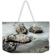 Rocks In The River Weekender Tote Bag