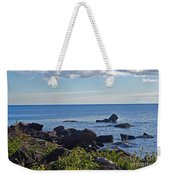 Rocks Of Lake Superior Weekender Tote Bag