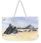 Rocks On Beach Weekender Tote Bag