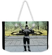 Rocky - All Sunshine And Rainbows Weekender Tote Bag by Bill Cannon