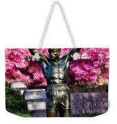 Rocky Among The Cherry Blossoms Weekender Tote Bag