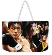 Rocky Artwork 2 Weekender Tote Bag