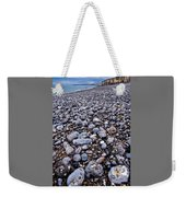 Rocky Beach Normandy France Weekender Tote Bag