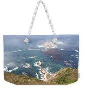 Rocky California Coast Weekender Tote Bag