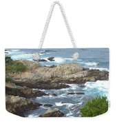 Rocky Cove Detail Weekender Tote Bag