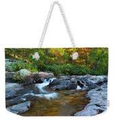 Rocky Creek Above Rocky Falls 1 Weekender Tote Bag