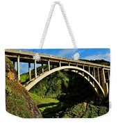 Rocky Creek Bridge Weekender Tote Bag