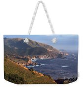 Rocky Creek Bridge In Big Sur Weekender Tote Bag by Charlene Mitchell