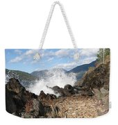Rocky Ledges Weekender Tote Bag