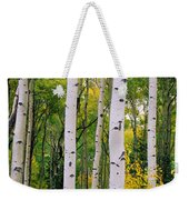 Rocky Mountain Aspen Forest Weekender Tote Bag