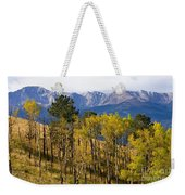 Rocky Mountain Autumn Weekender Tote Bag