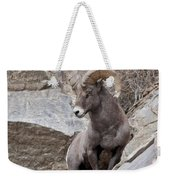 Rocky Mountain Big Horn Sheep Ram Weekender Tote Bag