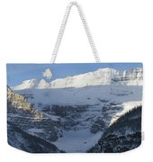 Rocky Mountain Blue Weekender Tote Bag