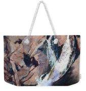 Rocky Mountain Cascade Weekender Tote Bag by Mary Benke