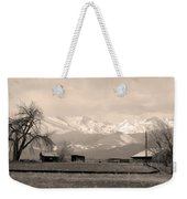 Rocky Mountain Lafayette Sepia Views Weekender Tote Bag