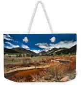 Rocky Mountain Meadows Weekender Tote Bag