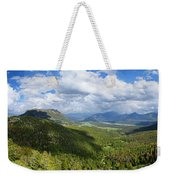 Rocky Mountain National Park Panorama Weekender Tote Bag