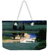 Rocky Mountain Reflection Weekender Tote Bag
