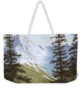 Rocky Mountain Solitude Weekender Tote Bag