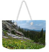 Rocky Mountain Summer Weekender Tote Bag
