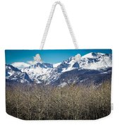 Rocky Mountain Woodland Weekender Tote Bag