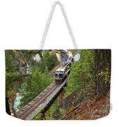 Rocky Mountaineer Railway Weekender Tote Bag