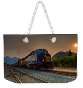 Rocky Mountaineer Sunrise Weekender Tote Bag