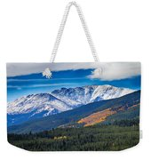 Rocky Mountains Independence Pass Weekender Tote Bag