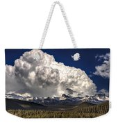 Rocky Mountains Weekender Tote Bag