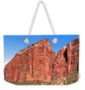 Rocky Mountains Of Zion Weekender Tote Bag