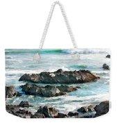 Rocky Ocean Shoreline One Weekender Tote Bag