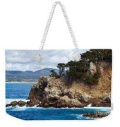 Rocky Outcropping At Point Lobos Weekender Tote Bag